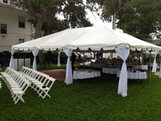 Tent wedding in port orange FL