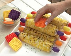"""Yes, there are these things called """"butter knives"""", but have you noticed they're not the easiest way to spread butter on foods like corn on the cob, muffins and"""