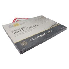 Saunders Waterford 12 x 9 watercolour paper cotton white Rough block St Cuthbert, Paper Manufacturers, White Sheets, Mold Making, Watercolor Paper, Canvas, How To Make, Cotton, Tela