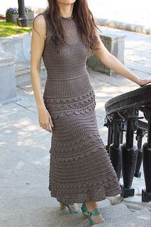 Crochet Dresses Patterns Ravelry: Monsoon shade of grey pattern by Lacelegance - Yarn – silk Botto Poala DRAGON 8 threads joined together = Crochet Bodycon Dresses, Crochet Summer Dresses, Black Crochet Dress, Crochet Blouse, Knit Dress, Dress Skirt, Crochet Skirt Pattern, Crochet Wedding, Dress Gloves