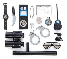Police Role Play Kit; (14 Pc Set) Kangaroo https://smile.amazon.com/dp/B00VY57R6U/ref=cm_sw_r_pi_dp_x_PV8HybY61J7HD
