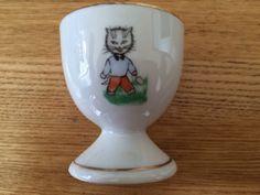 Vintage children's egg cup. Foreign.
