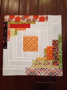 Images of converging corners log cabin quilts - Google Search