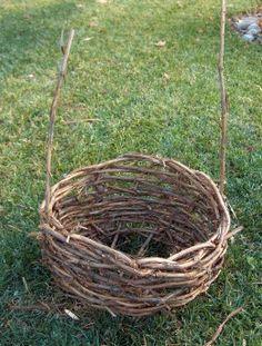 How to Make a Grapevine Basket
