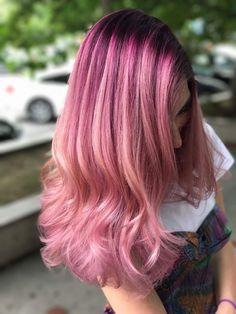 Pink hair by Totanji Studio