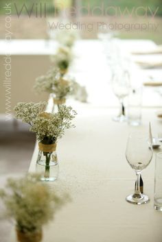 Wedding table/flowers