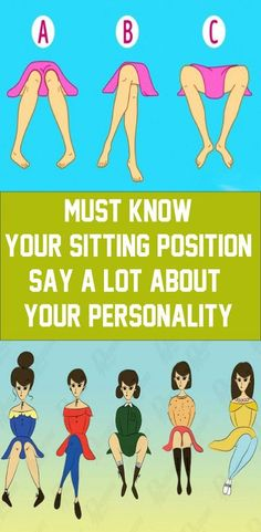 There are psychologists who studied body language and human behavior, and that they claim that however we sit could reveal a lot about our intentions and personality. when we sit down, we sit down unconsciously,[. Health And Fitness Magazine, Health And Fitness Articles, Health And Wellness, Health Care, Holistic Wellness, Wellness Tips, Health Fitness, Gym Workout Tips, Fitness Workout For Women