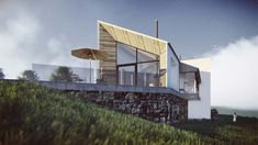 Malin | Donegal | McCabe Architects House Designs Ireland, Donegal, Architects, Solar, Building, House Ideas, Haus, Buildings, Architectural Engineering