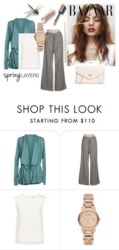 """For a Rainy Day"" by vintagefringe on Polyvore featuring Velvet by Graham & Spencer, Level 99, Finders Keepers, Burberry and GUESS"