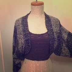 NWT Forever 21 Shawl Cardigan Bolero Sweater sz S New bolero style cardigan sweater by Forever 21. Size S. Feel free to make me an offer! Forever 21 Sweaters Shrugs & Ponchos