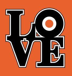 """Flyers """"Love"""" T-shirt $19.99  http://www.barktees.com"""