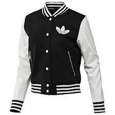 Adidas College Jacket W64408 Lederjacke, Coole Klamotten, Jacken, Wolle  Kaufen, Adidas- add9690cf6