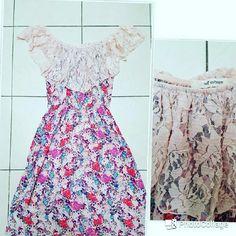 Dress Floral off the shoulders dress Self Esteem Dresses Strapless