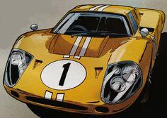 Ford Mk IV (Christian Papazoglakis, Robert Paquet)
