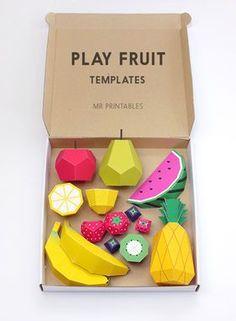 簡単・可愛い!紙の手作りフルーツと野菜の作り方【折り紙】【ペーパークラフト】 - NAVER まとめ: