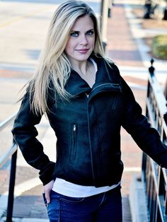 Black Crop Zipper Jacket - $36.00 : FashionCupcake, Designer Clothing, Accessories, and Gifts