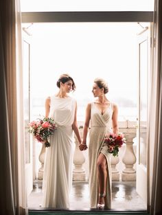 Same-sex wedding in Chicago | Kristin La Voie Photography | see more on: http://burnettsboards.com/2015/08/chicago-symphony-orchestra-elopement/