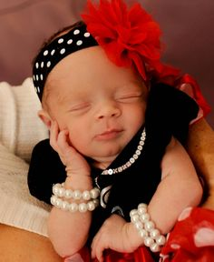 Coco & Ice-T's Baby Daughter Chanel Looks So Fancy in Her Christmas Pearls | E! Online