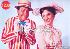 I totally had a crush on him when I was a kid... both in Mary Poppins and The Dick Van Dyke Show.