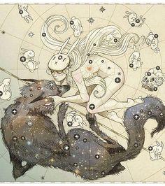 Chiara Bautista dark fantasy love illustrations