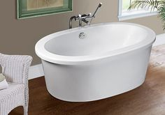 MTI Antigua simple freestanding tub.