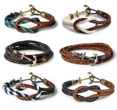pulseiras de âncora