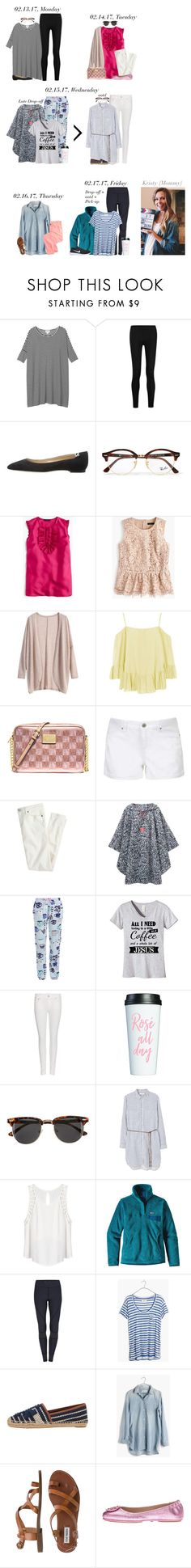 """""""A Week of Outfits for Kristy {02/13/17 - 02/17/17} 