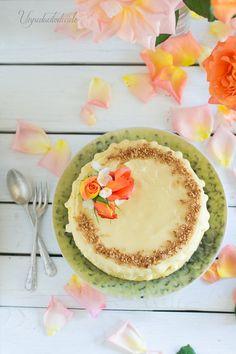 Que me gustan los Cheesecake ya lo sabéis, pero es que este cheesecake de Naranja y chocolate blanco es que te roba el corazón ...