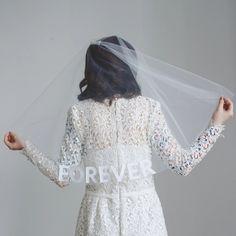 The Best Places To Buy Bridal Veils | OneFabDay.com Wedding Veils, Lace Wedding, Wedding Day, Dream Wedding, Wedding Attire, Cathedral Length Veil, Bride Veil, Affordable Wedding Dresses, Alternative Wedding