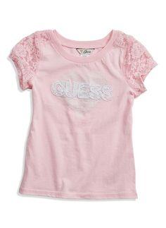 Baby Girl Suzie Heart Tee (2-4T)