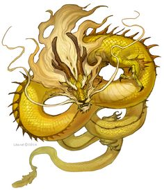 [Pic] Sovereign Dragon perhaps? Japanese Dragon, Chinese Dragon, Magical Creatures, Fantasy Creatures, Cool Dragons, Dragon Artwork, Fantasy Dragon, Fantasy Art, Mythological Creatures