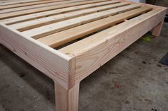 Solid king-size bed frame made of solid fir Plywood furniture DIY bed frame 57 ideas for furniture DIY bed frame 57 ideas for bedFlet bedSolid King Size Solid Fir Platform Bed Frame Custom Cama Queen Size, Queen Size Bedding, Woodworking Jig Plans, Woodworking Apron, Woodworking Basics, Woodworking Machinery, Woodworking Workshop, Woodworking Supplies, Woodworking Shop