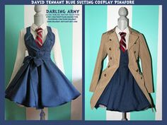 Matt Smith 11th -Doctor Who- Cosplay Pinafore by *DarlingArmy on deviantART