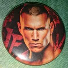 Button Badge WWE