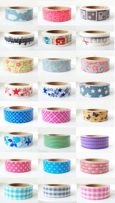 No-brainer gift idea for any artsy/crafty friend!    Washi tapes by local brand Hey Kessy #shoppinoy