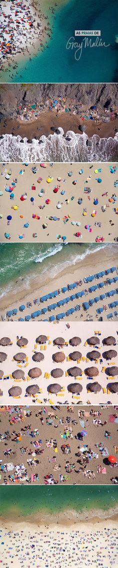 Achados da Bia | Fotografia | Gray Malin | Praias