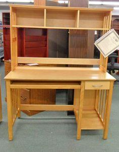 Vintage Bradford Oak Roll Top Desk Pre Loved Desk