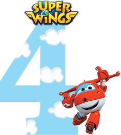 Fiestas Personalizadas Imprimibles: Numeros de Super Wings para imprimir Gratis 4th Birthday Cakes, 4th Birthday Parties, Imprimibles Super Wings, Disney Planes Party, Wonder Woman Birthday, Ideas Para Fiestas, Homeschool Math, Birthday Invitations, Diy And Crafts