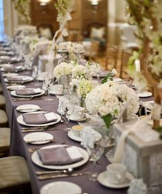30 Wedding Reception Decor Inspiration. To see more: http://www.modwedding.com/2014/01/21/30-wedding-reception-decor-inspiration/ #wedding #weddings #reception #centerpieces