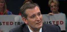 Ted Cruz, principale avversario di Trump