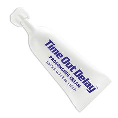 $40 Time Out Delay / Almohadilla de 10ml / Crema retardante de la eyaculación. Ayuda a aminorar la sensibilidad del glande para durar más tiempo en erección.