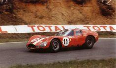 151 [002] # Maserati France - André Simon_Maurice Trintignant [1000 km de Paris - Montlhery [France] - 11 Oct 1964]