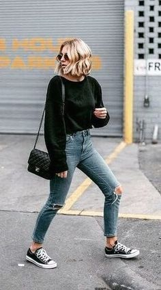 Fall outfits to shop this season and look beautiful everyday. Empower yourself and enjoy this fall with outfits carefully curated just for you. Fall Outfits 2018, Summer Outfits, Casual Outfits, Cute Outfits, Fashion Outfits, Womens Fashion, Amazing Outfits, Fashion Mode, Emo Outfits