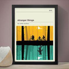 Stranger Things Poster, TV Print, Print, Poster