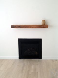 Modern Mantle Design Ideas, Pictures, Remodel, and Decor - page 8
