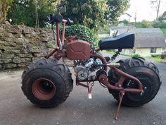 Image 20180422 195811 in Balloon Bike album Mini Motorbike, Trike Motorcycle, Mini Bike, Gas Powered Scooters, Motor Scooters, Custom Bikes, Custom Cars, Drift Trike, Cafe Bike