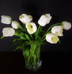 Hey, I found this really awesome Etsy listing at https://www.etsy.com/listing/216748024/real-touch-tulips-arrangement-artificial