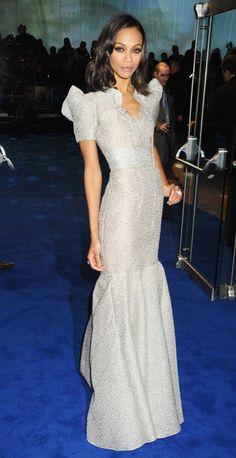 Style Star of 2009: Zoe Saldana - Los Angeles Women's Style | Examiner.com