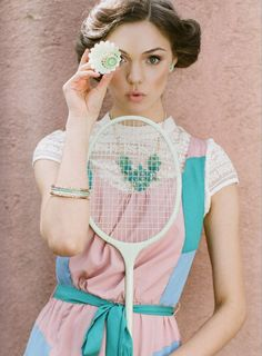 M Loves M: at work: Ruche Spring 2013 Lookbook Tea for Two