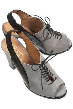 Topshop Greenwich Peep Slingback Shoes